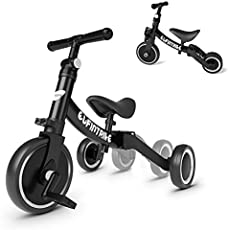 besrey 5 in 1 Toddler Bike for 1-4 Years Old Kids, Toddler Tricycle Kids Trikes Tricycle Ideal for Boys Girls, Balance Training