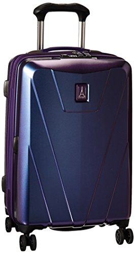 Travelpro Maxlite 4-Hardside Luggage with Spinner Wheels, Dark Purple, Carry-On 21-Inch