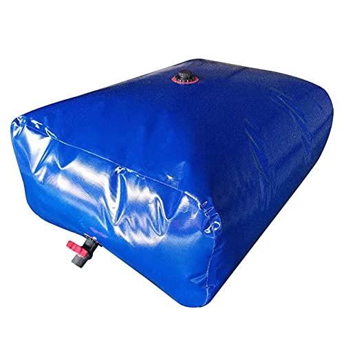 XJJUN Recipiente De Almacenamiento De Agua De Alta Capacidad, Cubo De Agua Flexible Plegable Recipiente De Agua De Emergencia Resistente Al Desgaste Y A Prueba De Fugas