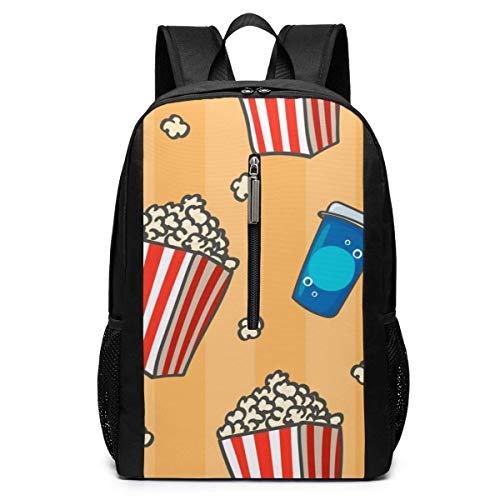 School Travel Business Bag Laptop Backpack Provence Country Floral Leaf School Backpack Shoulder Bookbags Bag for Womens Mens Adults 17'
