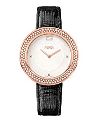 Fendi My Way Watch F354534011-C0 with White Opalin Dial