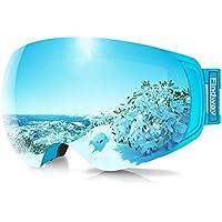 Findway OTG Anti-Fog UV Protection Ski & Snowboard Goggles