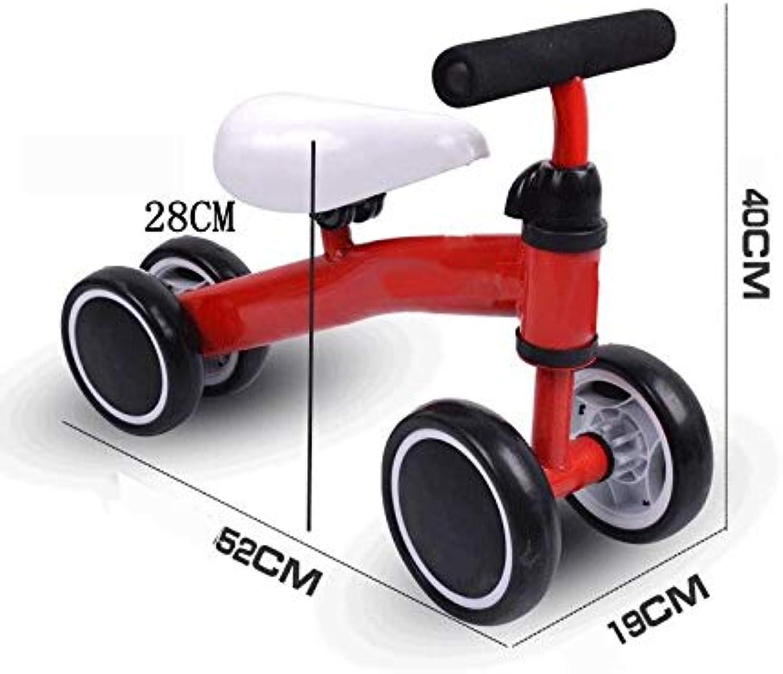 suministramos lo mejor BABIFIS Bicicletas deslizantes para bebés bebés bebés Paseo en Bicicleta para Niños de Cuatro Ruedas Equilibrio para Auto Sin pedaleo Caminador para Niños Instalación Gratuita  entrega de rayos