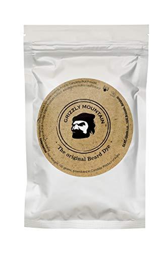 Grizzly Mountain Beard Dye - Organic & Natural Brown Beard Dye Teinture pour barbe naturelle et...