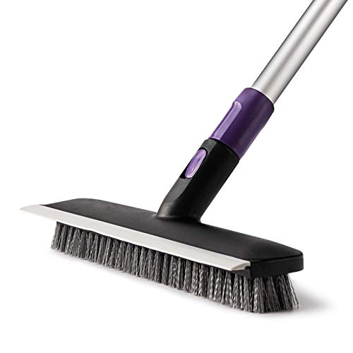 AKOMA Floor Scrub Brush with Extendable Long Handle 51