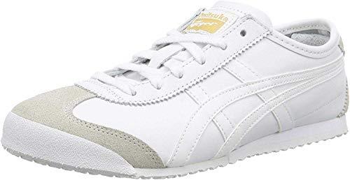 Onistuka Tiger Mexico 66 Unisex-Erwachsene Sneakers, Weiß (white/white 0101),44 EU