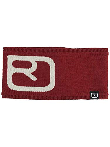 ORTOVOX Erwachsene Headband Pro, Dark Blood, One Size