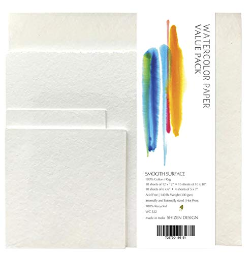 Paper Watercolor SHIZEN Value PK 39 SHTS