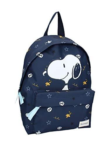 Ozabi – Mochila (equipaje, bolsos, carteras, estuche) Snoopy Fantasía, colección Premium multicolor, Mochila 056-1932 31 x 22 x 9 cm, talla única,