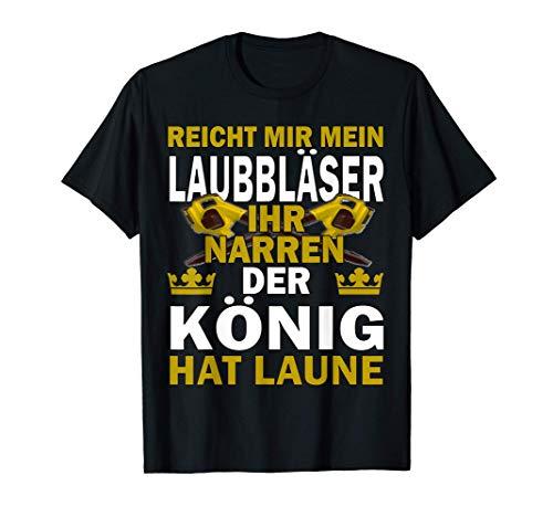Herren Laubbläser T-Shirt I Reicht mir...