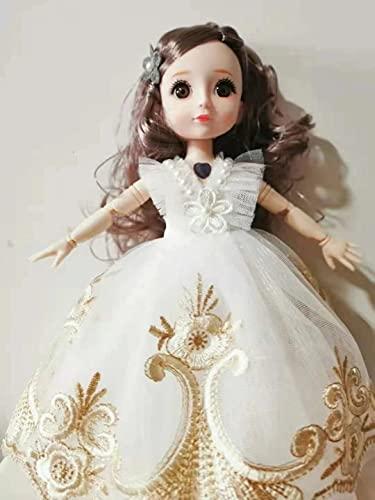 30 cm de música para muñeca Barbie muñeca articulada, juguetes de bricolaje, con juego completo de ropa, zapatos, peluca de maquillaje, gran regalo para niñas