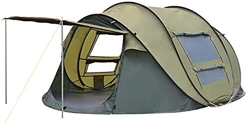SHWYSHOP Tiendas de campaña para Acampar Tienda de campaña para Exteriores Tiendas de campaña para 3-4 Personas Tienda automática instantánea Senderismo Pesca Carpas de Playa Toldos Campi