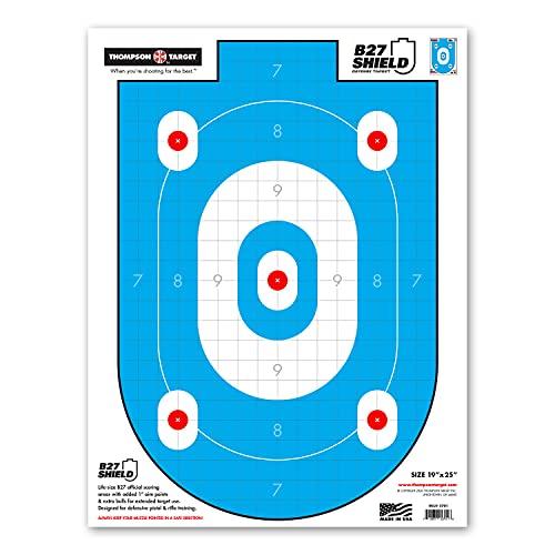 B27-Shield Defense Training - Paper Silhouette Shooting...