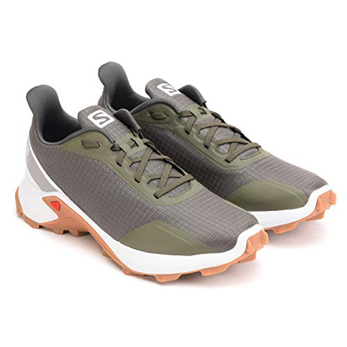Salomon L40798000 Synthetic Alphacross Men's Running Shoe, 7 UK, (Grey)