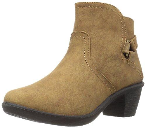 Easy Street Women's Dawnta Ankle Bootie, Camel Matte, 6 W US