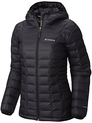 Columbia Women's Voodoo Falls 590 TurboDown HDD Jacket, Black, Large