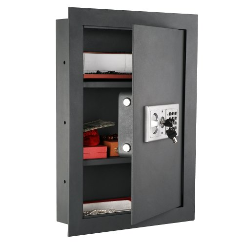 1. Paragon Lock & Safe 7725 Flat Electronic Wall Safe For Jewelry
