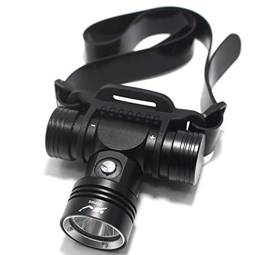 Lampe Frontale Diving Headlamp Underwater 100 Meters Led Waterproof Camping Lanterna Torch Lamp Diving Headlamp