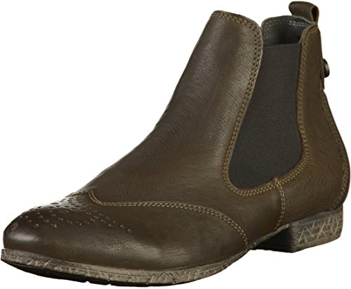 Think! Damen EBBS_383136 Chelsea Boots, Grün (62 Oliv), 42 EU