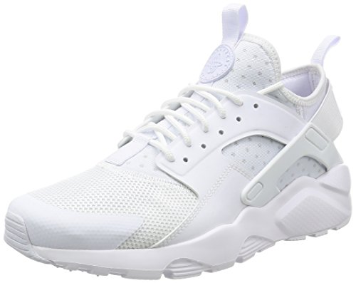 Nike Air Huarache Run Ultra, Zapatillas de Running para Hombre, Blanco (White/White/White), 44 EU