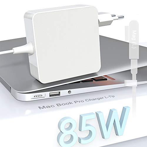 Eletrand Cargador Mac Book Pro L-Tip 85W Adaptador para Mac Book Pro/Air...