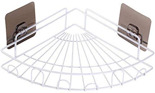 GYCS Étagère de Douche pour étagères d'angle de Salle de Bain sans perçage - Étagères murales Triangle pour Panier de Rangement pour ustensiles de Cui
