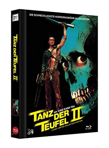 Tanz der Teufel 2 (4K UHD) - 3-Disc Limited Uncut Mediabook Collectors Edition (wattiert) (Cover D) - limitiert auf 666 Stück - Blu-ray