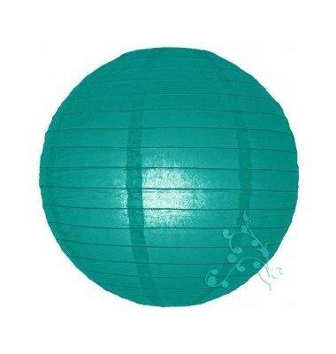 HL Lot de 4 lampions Vert Turquoise (40 cm - 30 cm - 20 cm -10 cm)