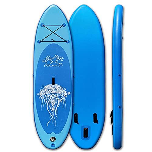 Tablas hinchables Surf de Remo, Tabla De Surf Inflatable Sup Paddle Remo Surfboard hinchables Paquete Premium para Adultos Y Niños Principiantes