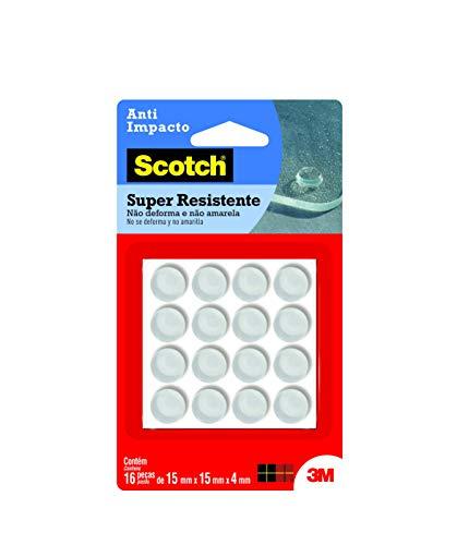 Protetor Anti-Impacto 3M Scotch Redondo Grande - 16 unidades