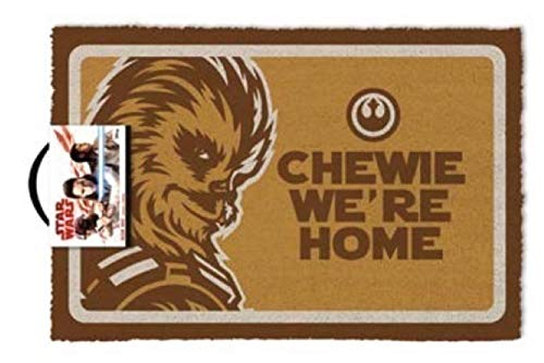 Pyramid International Star Wars Chewie were Home Fußmatte, 60 x 40 cm, Mehrfarbig