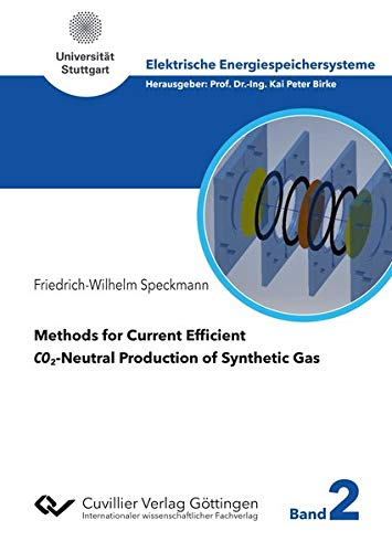 Methods for Current Efficient CO2-Neutral Production of Synthetic Gas (Elektrische Energiespeichersysteme)