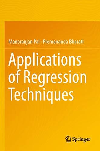 Applications of Regression Techniques