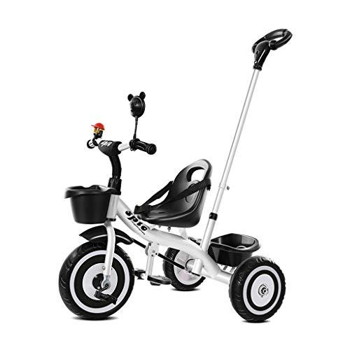 Fácil triciclo 1 año de edad, juguetes multifunción montaje de la bicicleta de los niños y niñas de triciclo portátil adecuado para niños triciclo niños bicicleta