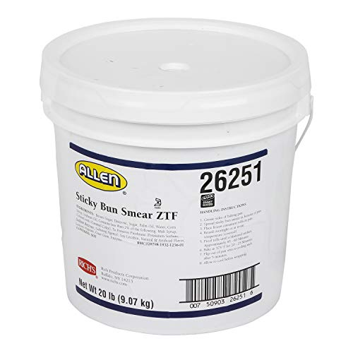 Rich's Sticky Bun Smear for Cinnamon Rolls, Pastries & Sweet Breads, 20 lb Pail Other 320 Ounce