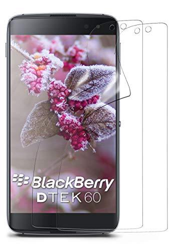 MoEx® Kristallklare HD Schutzfolie passend für BlackBerry DTEK60   Premium Bildschirmfolie - Kratzfest & Fast unsichtbar - Ultra Klar