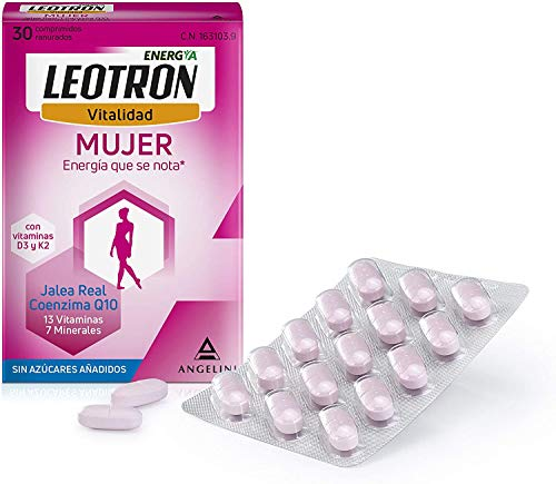 Leotron Vitalidad para Mujer, 30 Comprimidos