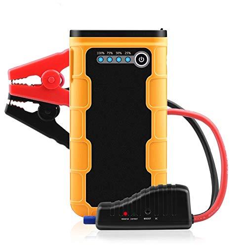 Z&LEI Starter de Salto de automóviles Multifuncional de 13000mAh, 600A Externo de 12V de 12V con batería de Emergencia Batería de Emergencia Banco de automóvil Banco de energía