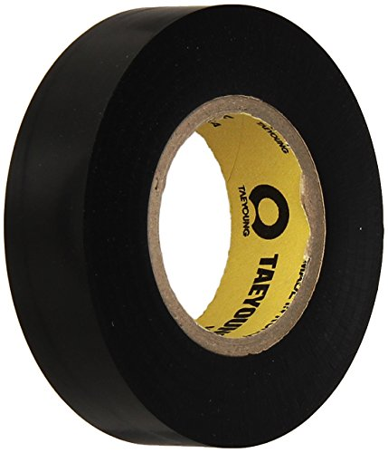 TapeCase TC790 Dry Vinyl Tape - 3 in. x 100 ft. Black Chrome Plating Tape Roll with High Conformability. Adhesive Tapes