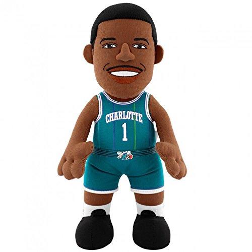 NBA Charlotte Hornets Tyrone 'Muggsy' Bogues Plush Figure, 10', Dark Purple