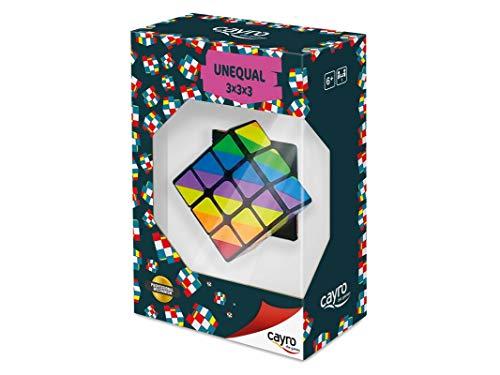 Cayro -Cubo 3x3 Unequal - Juguete de ingenio - Desarrollo de Habilidades cognitivas e inteligencias múltiples - Juego para niños y Adultos (YJ8313)