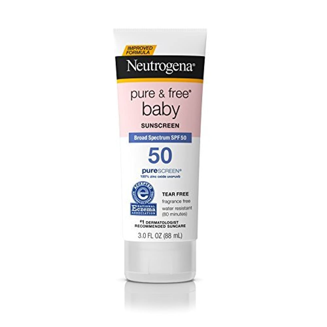 会員人生を作る急襲Neutrogena Pure & Free Baby Mineral Sunscreen Broad Spectrum SPF 50 3 fl. oz. [並行輸入品]