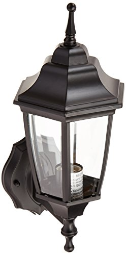 Boston Harbor DTDB 2076818 Dimmable Outdoor Lantern, (1) 60/13 W Medium A19/Cfl Lamp, Black