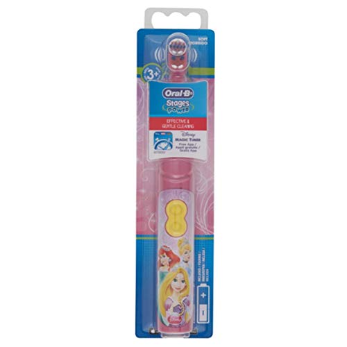 Oral-B Stages Power Battery Toothbrush for 3 Years and + - Colour : Princess