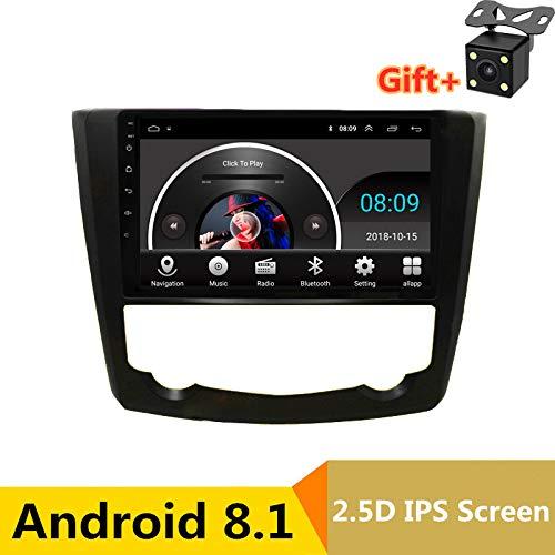 22,9cm 2.5d IPS Android 8.1lettore DVD multimediale GPS per Renault Kadjar 201520162017audio auto radio stereo navigazione WiFi