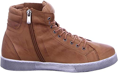 Andrea Conti Damen 0347843 Hohe Sneaker, Braun (Brandy 100), 41 EU