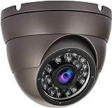 Anpviz Cámara CCTV 1080P domo vigilancia analógica de seguridad 4 en1 HD TVI / CVI / AHD / 960H Resistente al clima exterior IP66, Lente fija con 24 piezas IR Led Visión diurna / nocturna