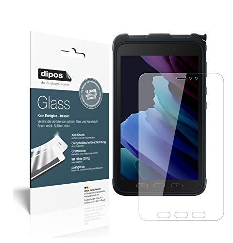 dipos I Protector de Pantalla Compatible con Samsung Galaxy Tab Active 3 Vidrio Flexible Cristal Proteccion 9H