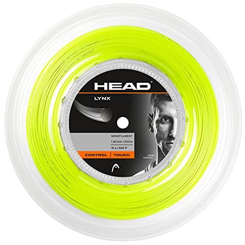 HEAD Lynx Matassa, Racchetta da Tennis Unisex Adulto, Giallo, 17