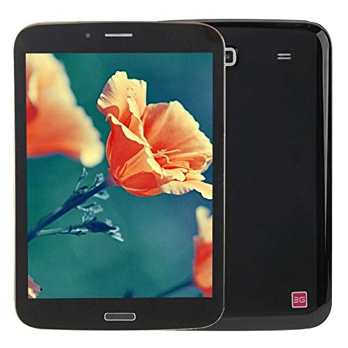 Hanks' shop Android 7.85 Inch Android 4.2 Tablet PC 8GB, 3G / 2G Mobile Phone Function, Dual SIM(Black) (Color : Black)